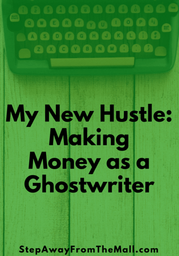 My new hustle as a ghostwriter.